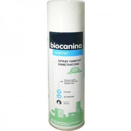Spray habitat Diméthicone - 200 ml - Biocanina
