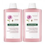 Shampoing Apaisant & Anti-Irritant à la Pivoine de Chine - Lot de 2 x 400 ml