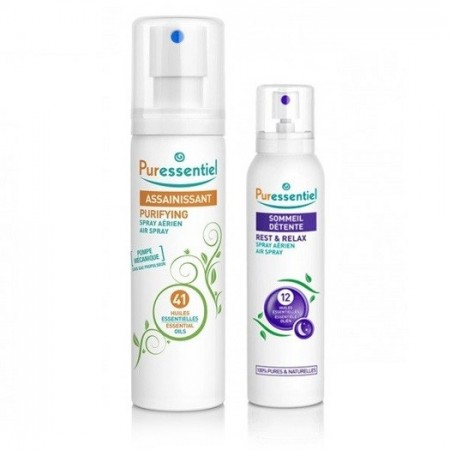 Spray assainissant 200ml & Spray sommeil 20ml - Puressentiel