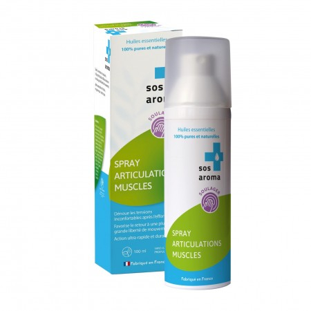 Spray articulations muscles - 100 ml - SOS Aroma