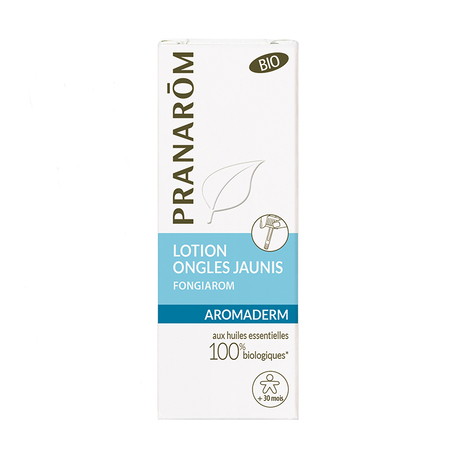 Aromaderm - Lotion ongles jaunis - 10 ml - Pranarôm