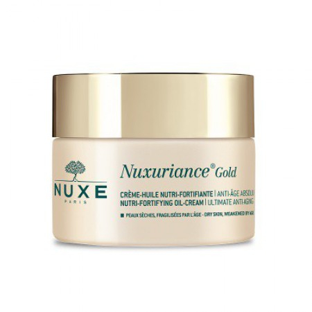 Nuxuriance Gold Crème Huile Nutri-Fortifiante - 50ml - Nuxe