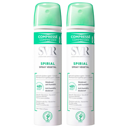 Spirial - Spray végétal - Lot de 2 x 75 ml - SVR