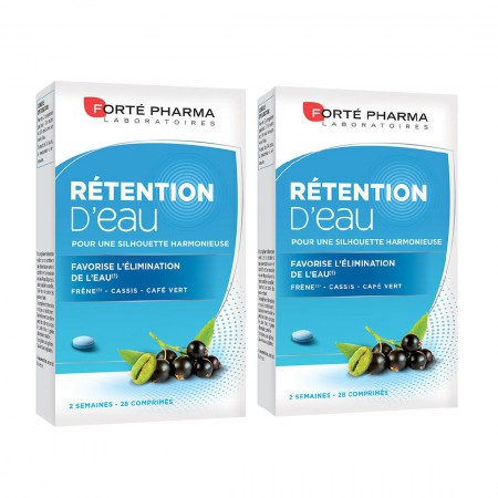 Minceur Rétention d'Eau 45+ - Lot de 2 x 28 comprimés - Forte Pharma