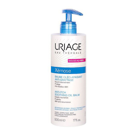 Xémose - Baume oléo-apaisant anti-grattage - 500 ml - Uriage