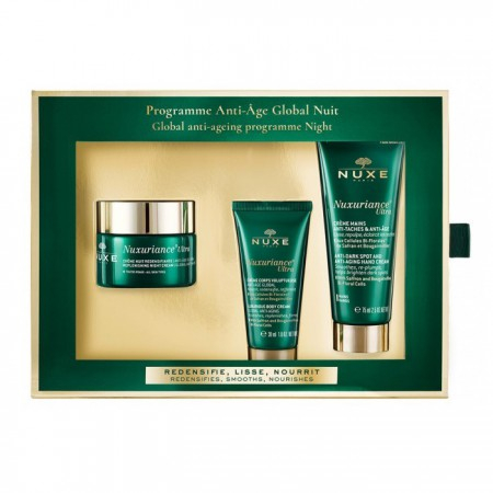 Nuxuriance Ultra - Programme anti-âge globale nuit - 3 produits - Nuxe