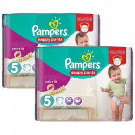 Active Fit - Taille 5 - Pack de 180 couches - Pampers