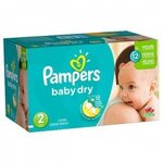 Baby Dry - Taille 2 - Pack de 252 couches