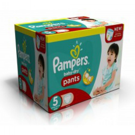 Baby Dry Pants - Taille 5 - Pack de 210 couches - Pampers