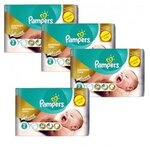 266 Couches Pampers New Baby - Premium Care taille 2