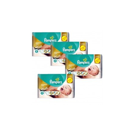 266 Couches Pampers New Baby - Premium Care taille 2 - PAMPERS