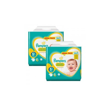 270 Couches Pampers New Baby - Premium Protection taille 5+ - Pampers