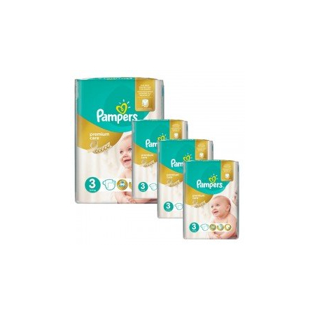 240 Couches Pampers Premium Care - Prima taille 3 - Pampers