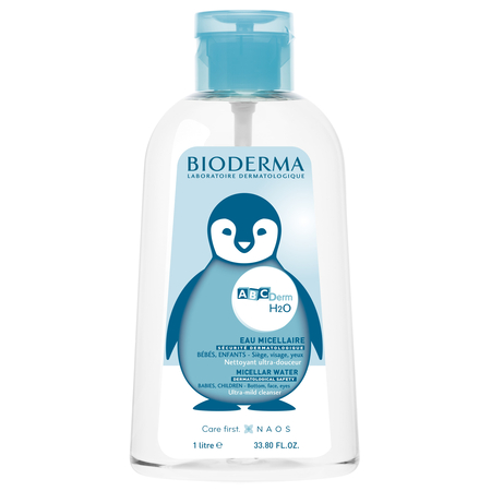 ABCDerm - H2O Solution micellaire - 1l - Bioderma