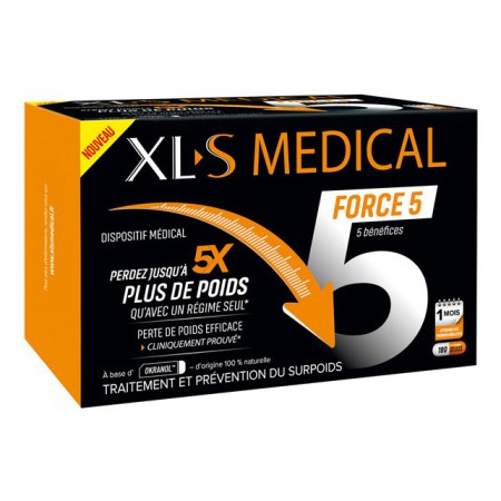 Force 5 - 180 gélules - XL-S Medical