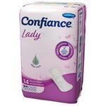 Confiance - Lady Absorption 2 Gouttes - 14 protections anatomiques