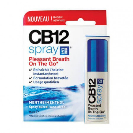 Spray Menthe - 15ml - CB12