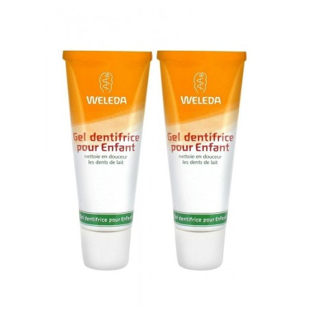 Duo Gel Dentifrice Enfant - 2 x 50ml - Weleda