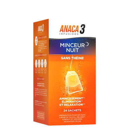 Infusions - Minceur Nuit - 24 sachets - Anaca 3
