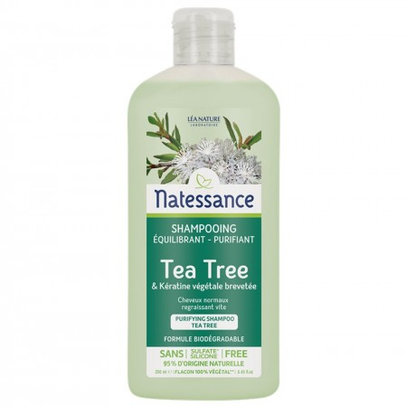 Shampooing Équilibrant Purifiant Tea Tree - 250ml - Natessance