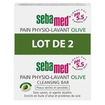 Pain Physio-Lavant Olive - Lot de 2 x 150g