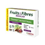 Fruits & Fibres Regular Transit Intestinal - 2 x 24 cubes