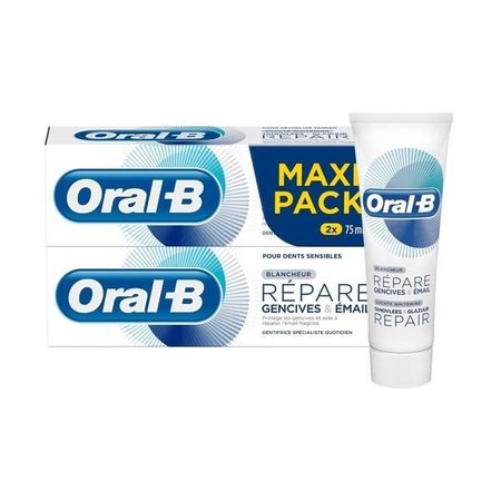 Blancheur Maxi Pack - 2 x 75ml - Oral-b