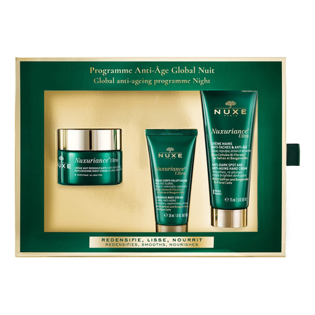 Nuxuriance - Coffret Programme Anti-Âge Global Nuit - 3 produits - Nuxe