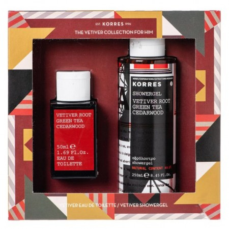 KG Coffret The Vetiver Collection For Him - Korres