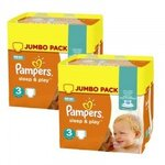 410 Couches Pampers Sleep & Play taille 3