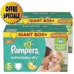 341 Couches Pampers Active Baby Dry taille 5