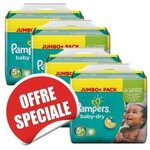 400 Couches Pampers Baby Dry taille 5+