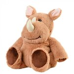 Warmies Cozy Peluches Bouillotte Rhino