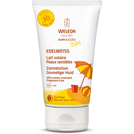 Baby & Kids Edelweiss - Lait Solaire SPF30 - 150ml - Weleda