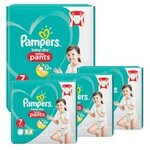 116 Couches Pampers Baby Dry Pants taille 7