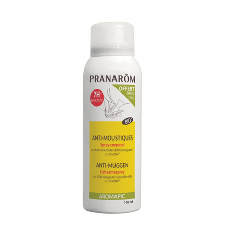 Aromapic Anti-moustique Spray Corporel Bio - 75ml + 25ml OFFERT - Pranarôm