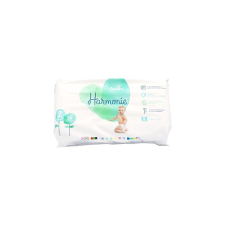 Harmonie T2 4-8kg - 39 couches - Pampers