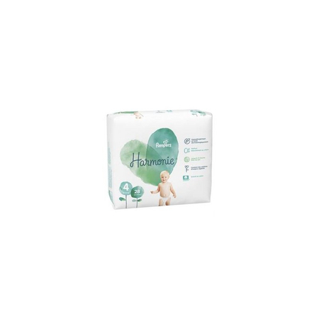 Harmonie T4 9-14kg - 28 couches - Pampers