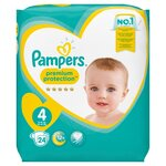 New Baby Premium Protection T4 8-16kg - 24 couches