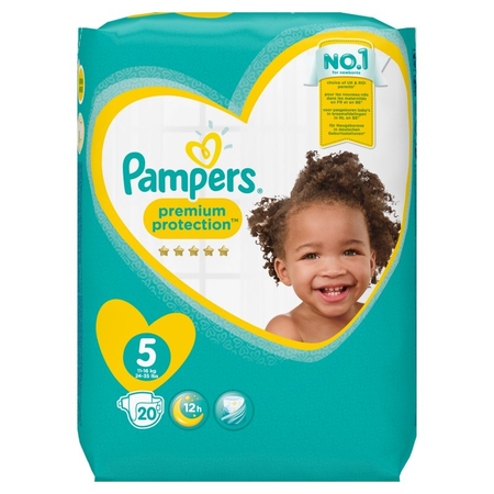 Premium Protection T5 11-16kg - 20 couches - PAMPERS