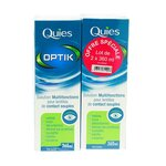 Optik Solution Multifonction Lentilles Souples Lot de 2x360ml