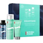 Coffret Aquapower Men Hydratant 75ml + Nettoyant Visage 40ml + Mousse de Rasage 50ml
