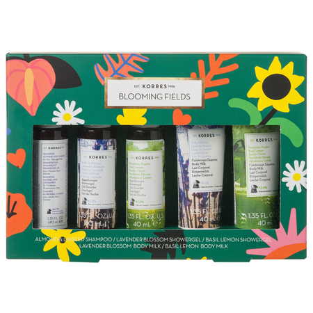 Coffret Blooming Fields Collection - 5 pièces - Korres