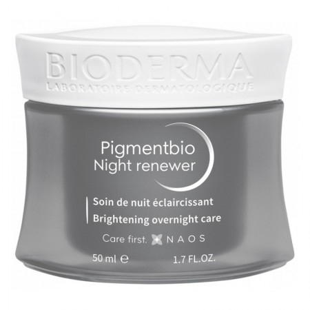 Pigmentbio Night Renewer Soin de Nuit Eclaircissant - 50ml - Bioderma