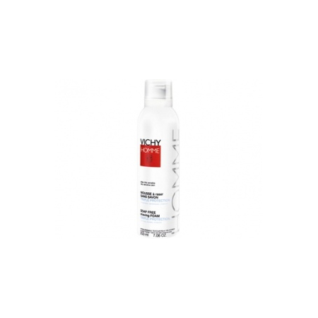 Mousse à raser sans savon Triple protection 200 ml - Vichy Laboratoires