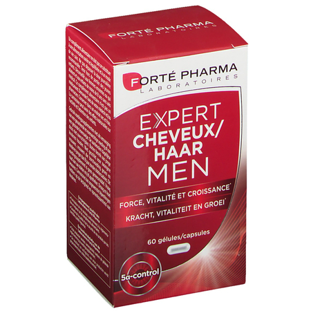 Expert Cheveux Men - 60 gélules - Forte Pharma