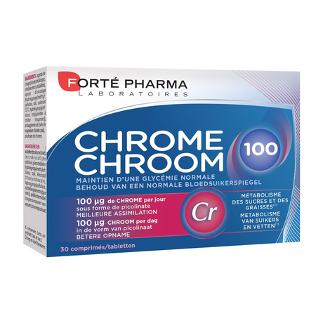Chrome 100 - 30 comprimés - Forte Pharma