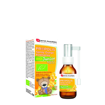 Propolis Spray Gorge Junior Bio - 15ml - Forte Pharma