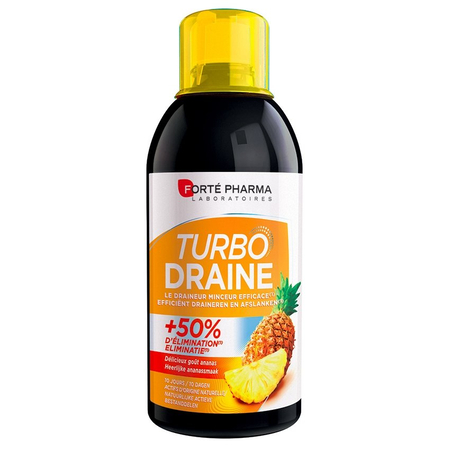 Turbodraine Ananas - 500ml - Forte Pharma