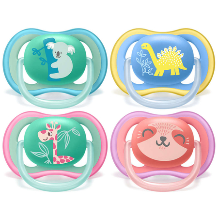 Sucettes Ultra Air Pacifier Mix 18 mois+ - Avent
